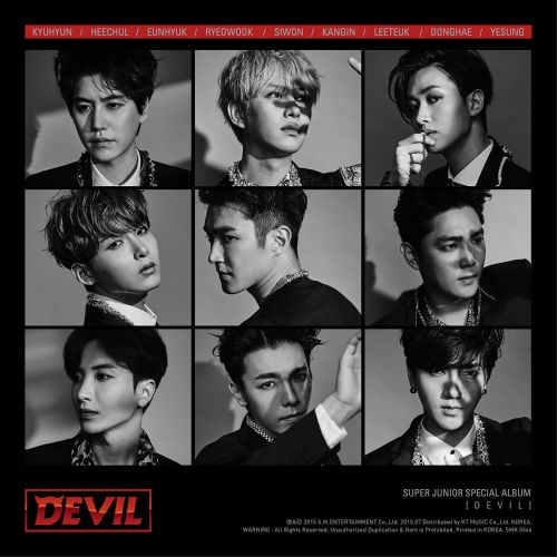 DEVIL - SUPER JUNIOR SPECIAL ALBUM 앨범이미지