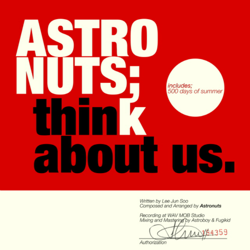 [Single] Astronuts – Think About Us