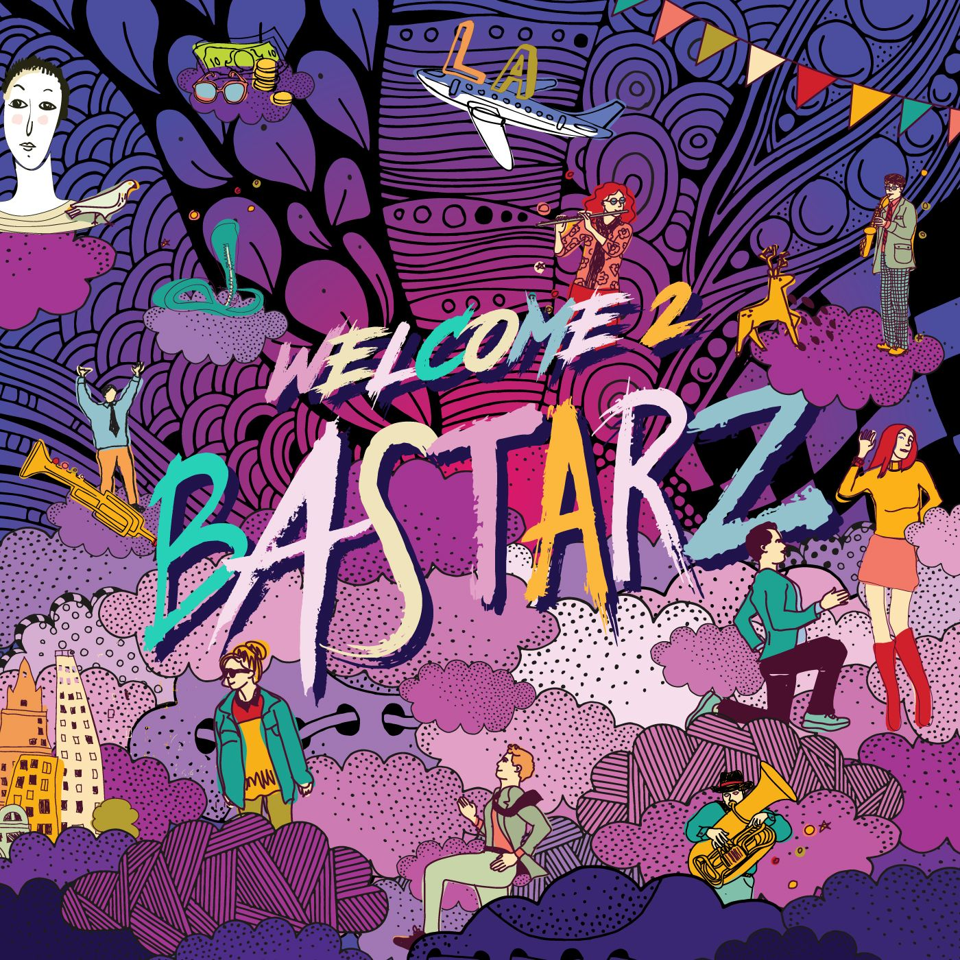 WELCOME 2 BASTARZ 앨범이미지