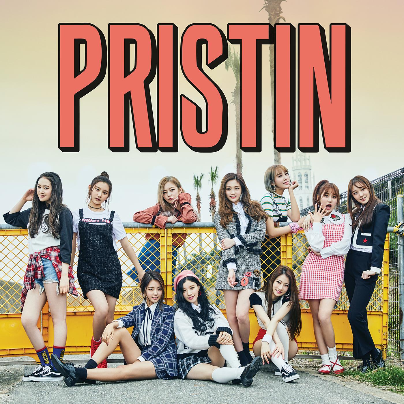 The 1st Mini Album `HI! PRISTIN` 앨범이미지