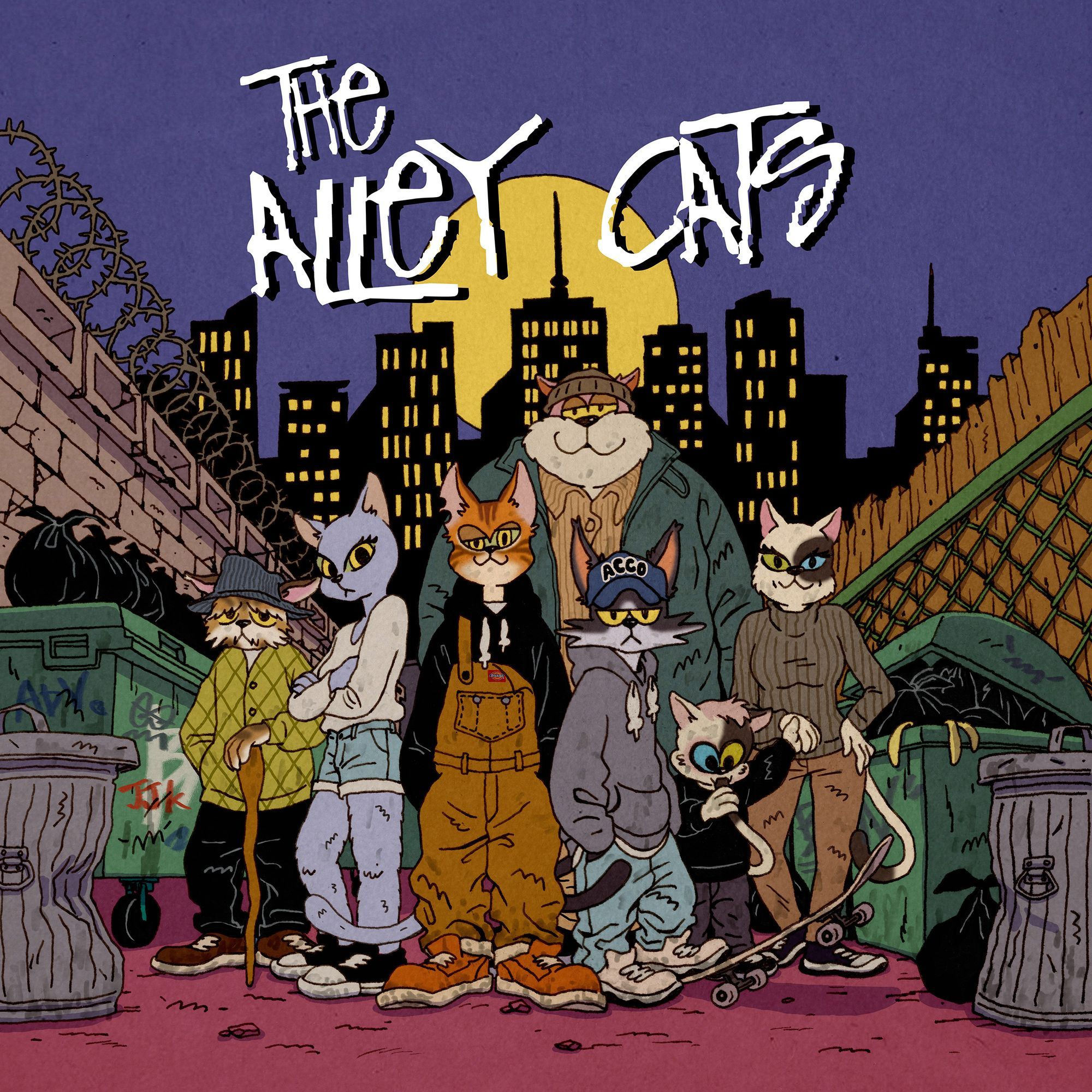 The Alley Cats 앨범이미지