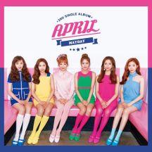 에이프릴(APRIL) 2nd Single Album `MAYDAY` 앨범이미지