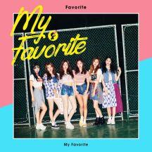 The 1st MINI ALBUM (My Favorite) 앨범이미지