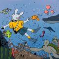 토끼인더바다 - 페이지 이동