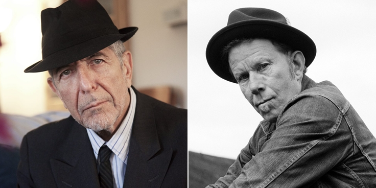 Leonard Cohen & Tom Waits
