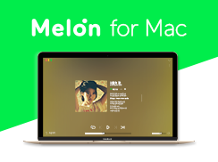 Melon for Mac 사전공개 배너 이미지