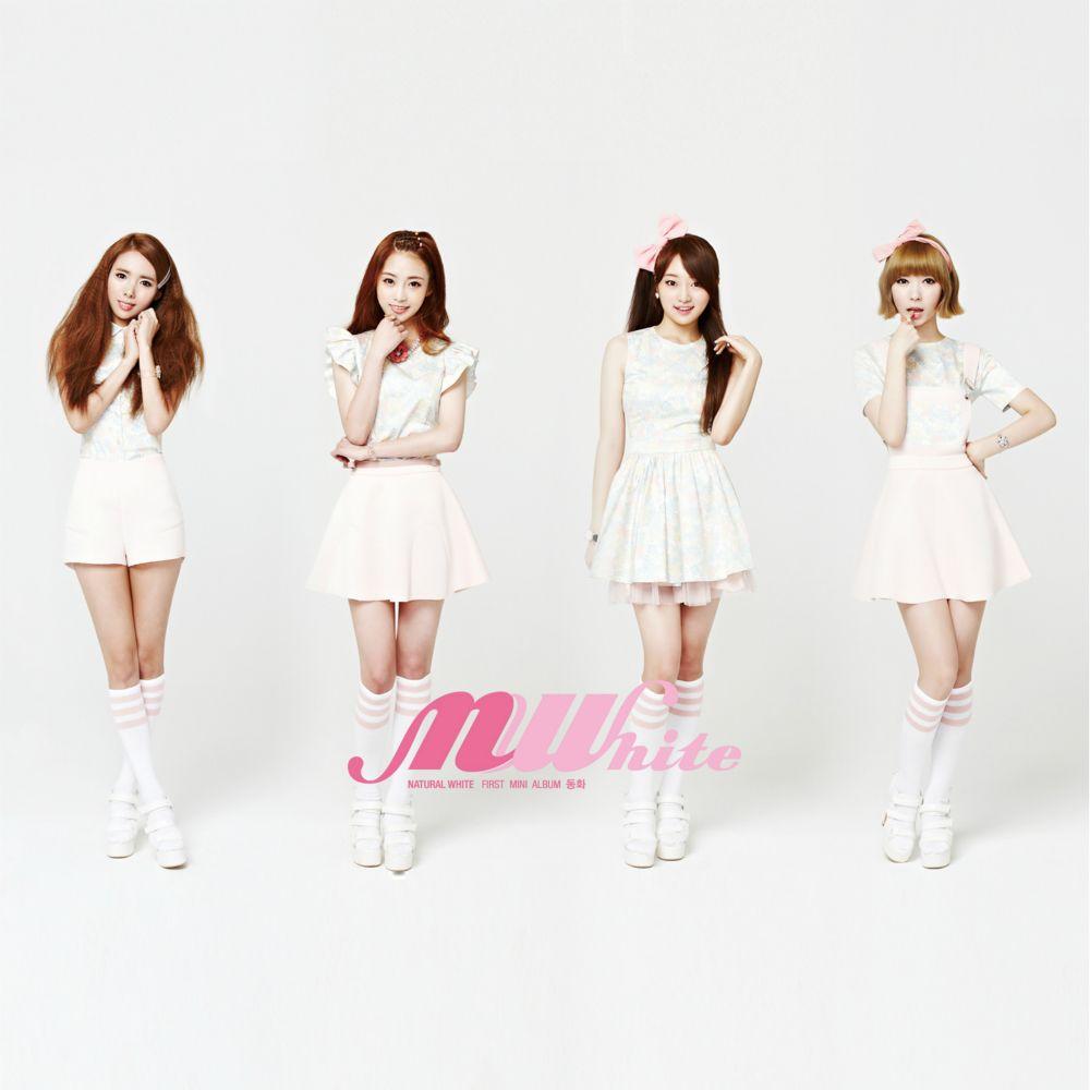 "N-White – First Mini Album ""Dong Hwa"""