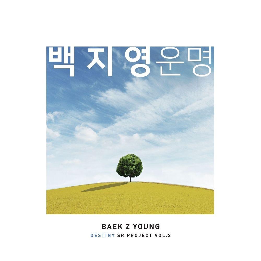 BAEK Z YOUNG – SR PROJECT VOL.3 – Single