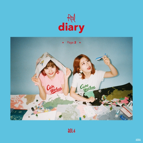BOL4 (BOLBBALGAN4) – Red Diary Page.2 – EP (ITUNES PLUS AAC M4A)