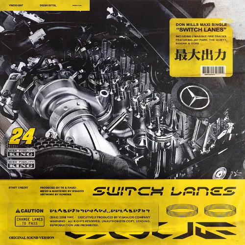 Don Mills – Switch Lanes – Single (ITUNES PLUS AAC M4A)