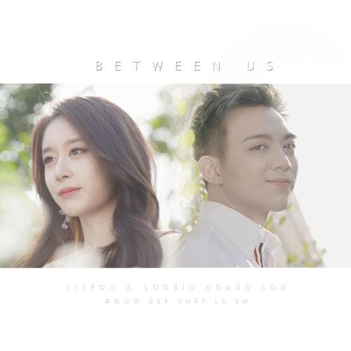 JIYEON, Soobin Hoang Son – Between us – Single