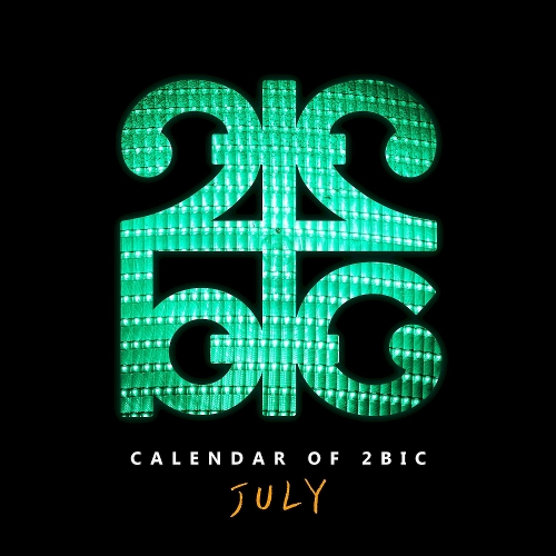 2BIC – Calendar of 2BIC (July) – Single