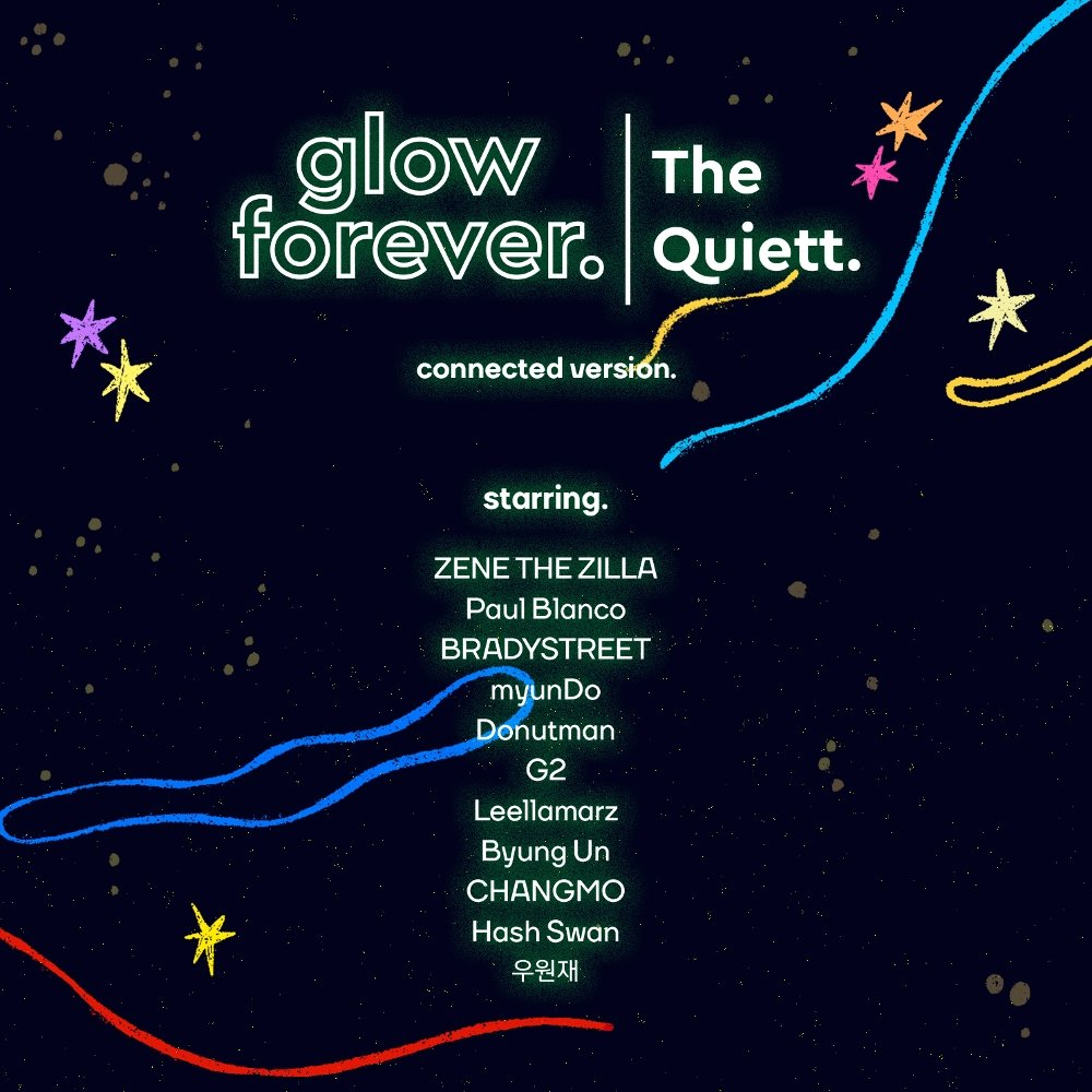 The Quiett – glow forever (Connected Version) – Single