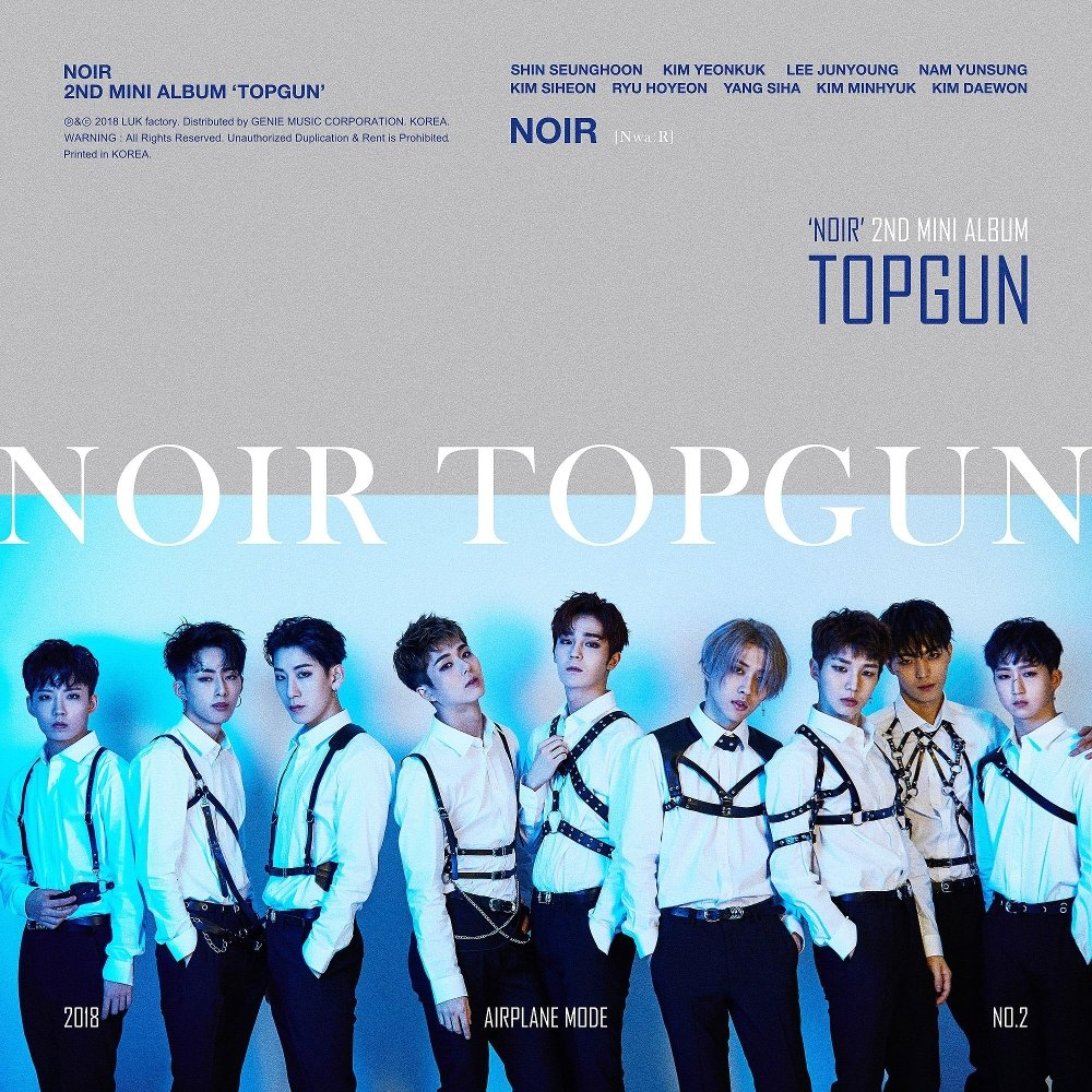 NOIR – NOIR 2nd Mini album `TOPGUN` (ITUNES MATCH AAC M4A)