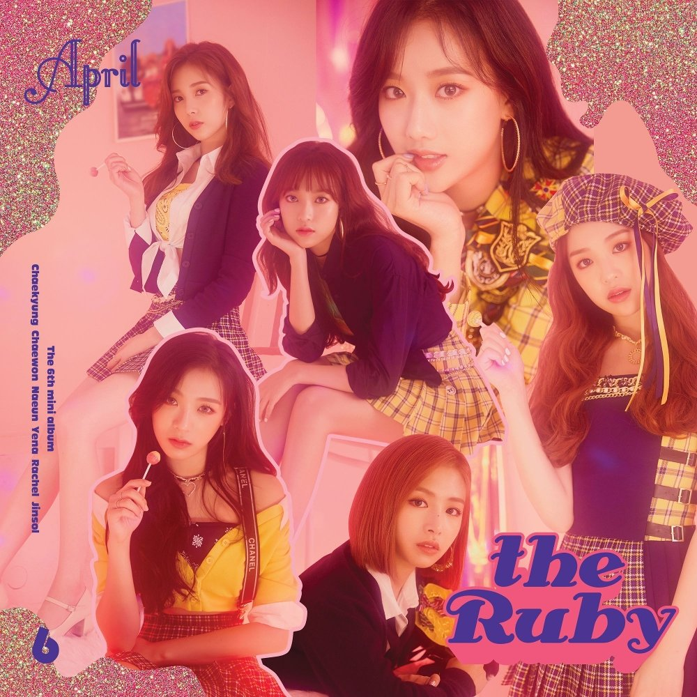 APRIL – APRIL 6th Mini Album `the Ruby` (FLAC)