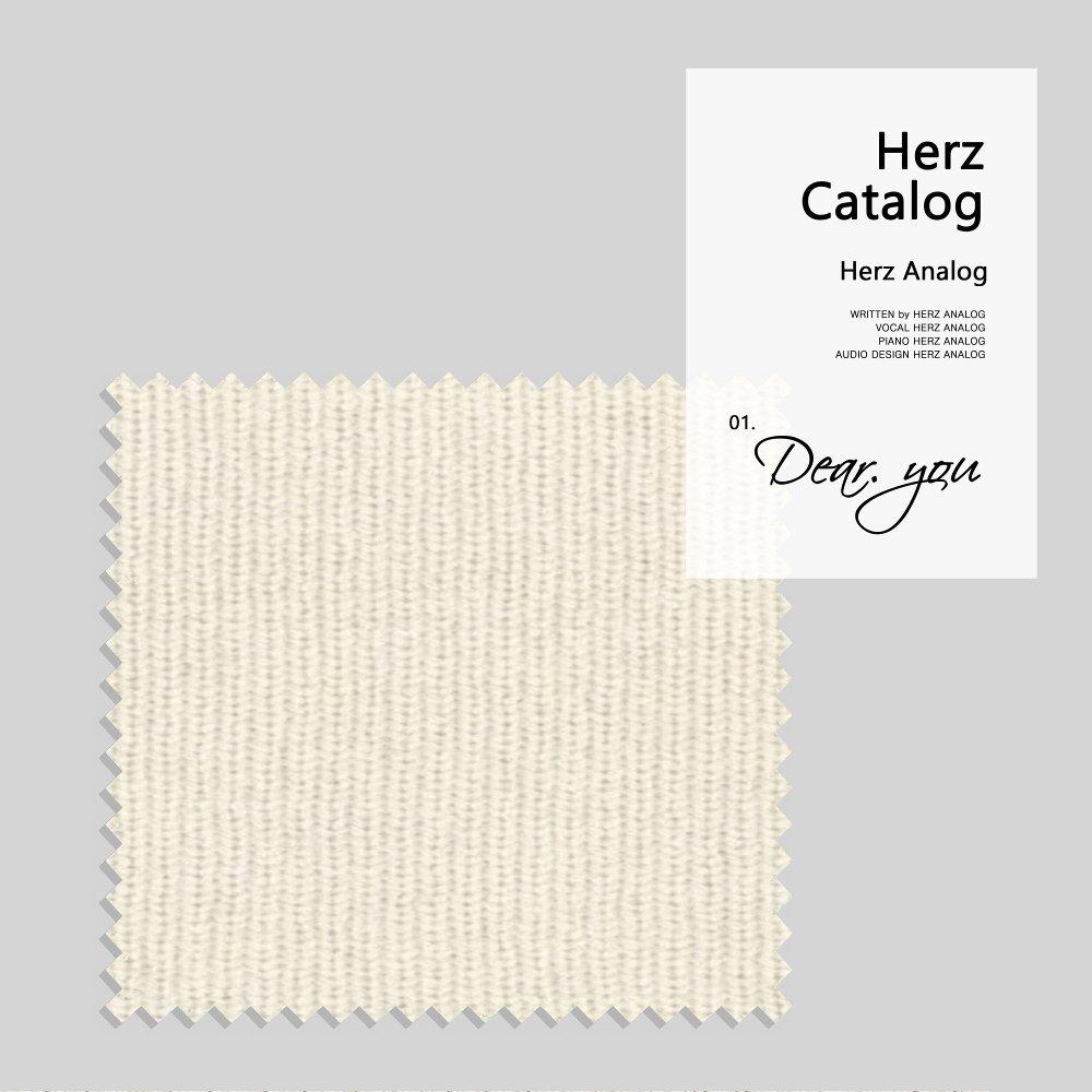 Herz Analog – Herz Catalog – Dear you – Single