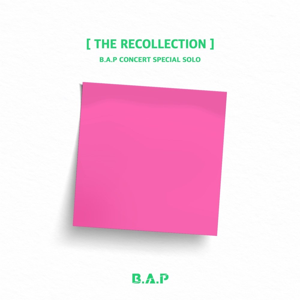 B.A.P – B.A.P CONCERT SPECIAL SOLO `THE RECOLLECTION`