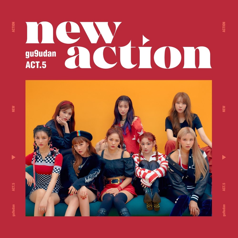 gugudan – ACT.5 New Action – EP (FLAC + ITUNES PLUS AAC M4A)