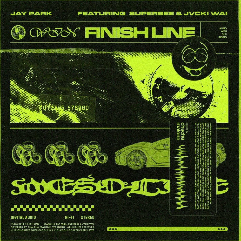 Jay Park – Finish Line (Feat. SUPERBEE & Jvcki Wai) – Single