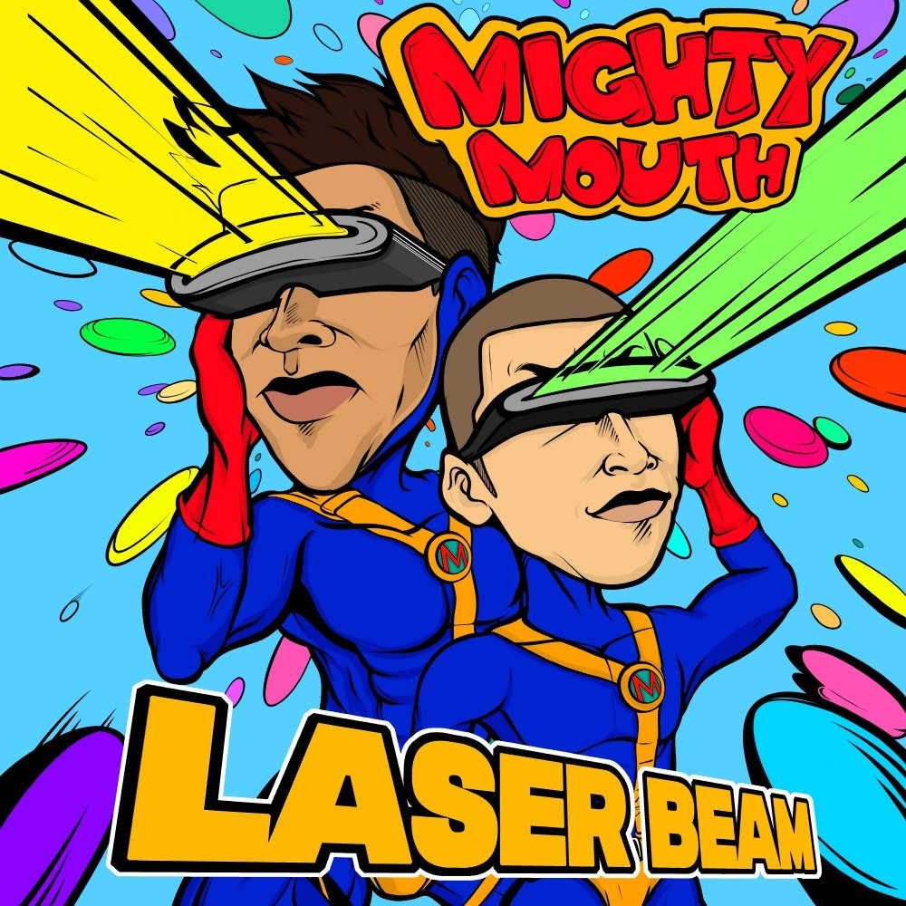 Mighty Mouth – LASER BEAM (Feat. Cho Hyun Young) – Single