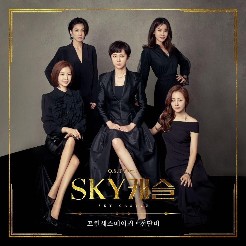 Poster drama Korea SKY Castle