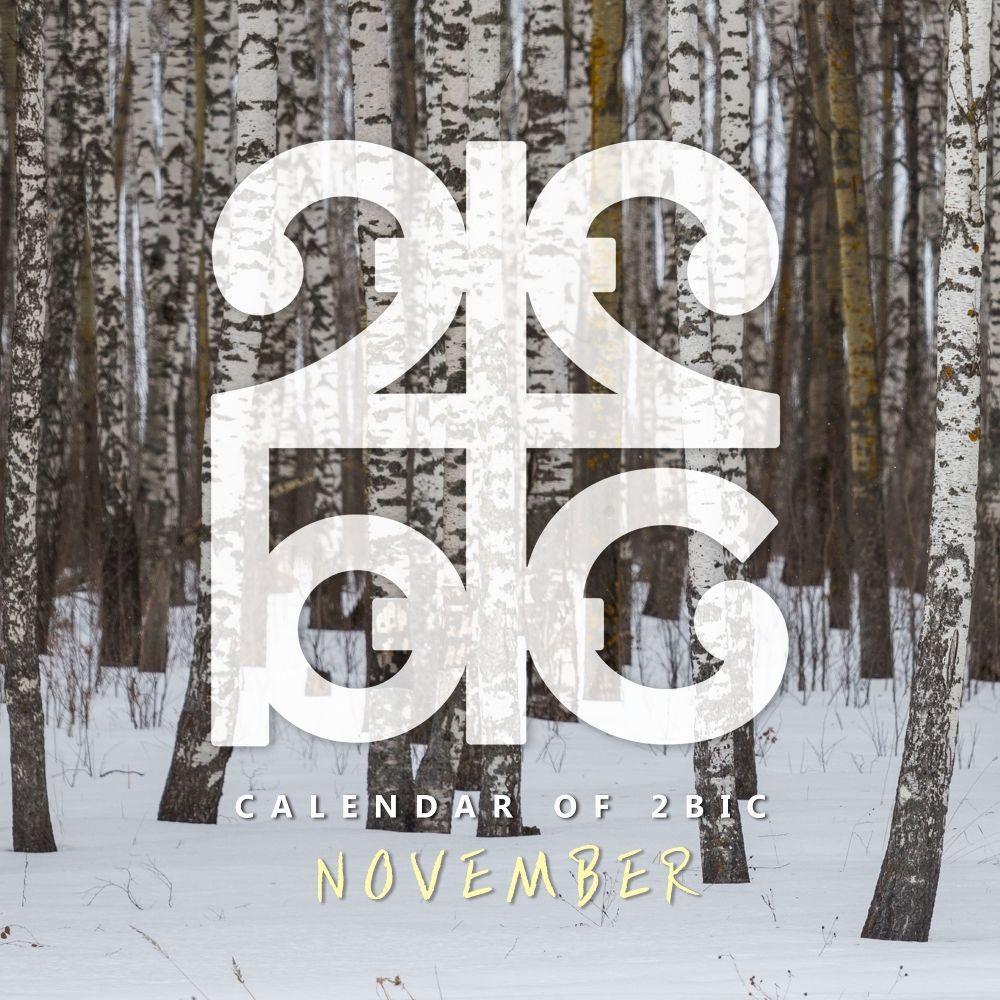 2BIC – 난로 Calendar of 2BIC (November) – Single
