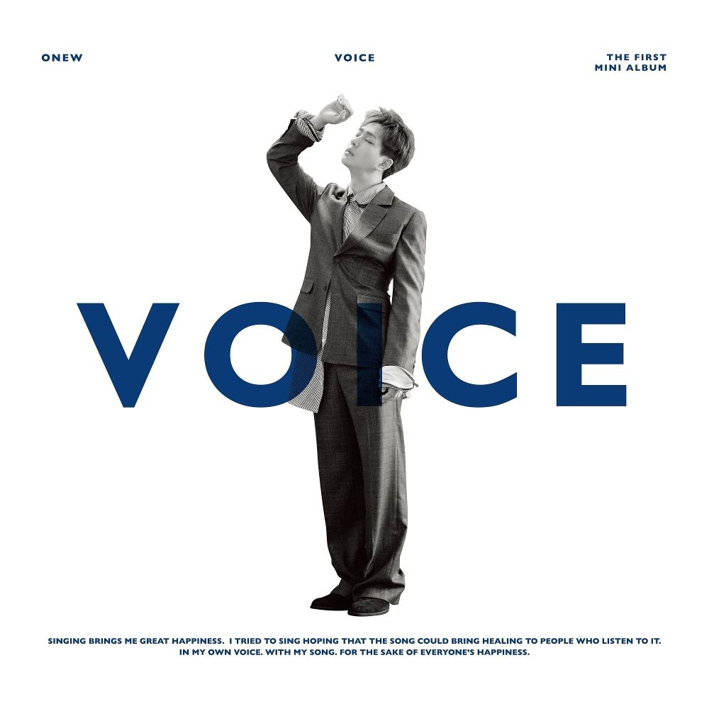 ONEW – VOICE – The 1st Mini Album (ITUNES MATCH AAC M4A)
