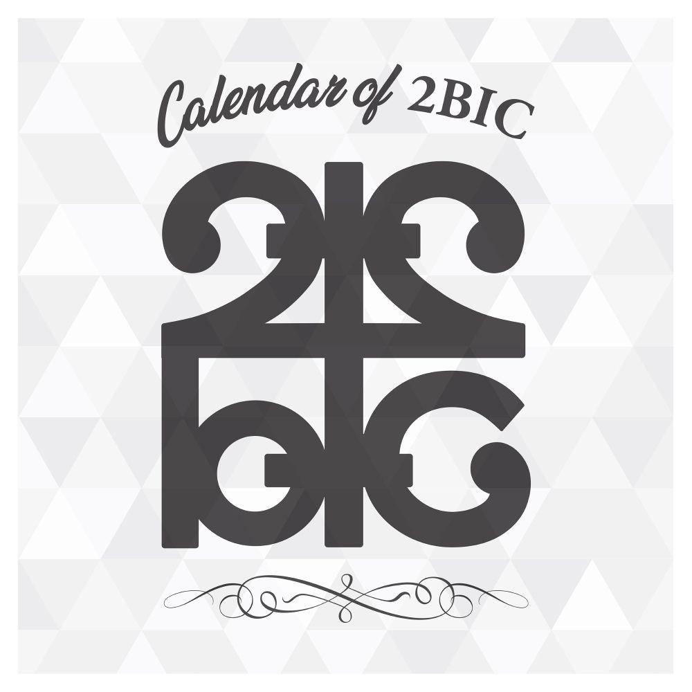 2BIC – 새벽 Calendar of 2BIC (December)