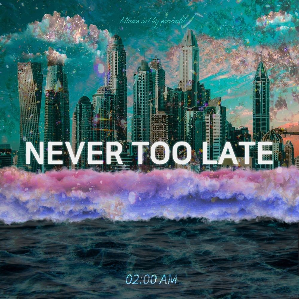 Ve-known, A crow – Never Too Late – Single
