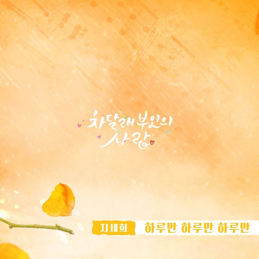 JI SE HEE – Lady Cha Dal Rae's Lover OST Part.24