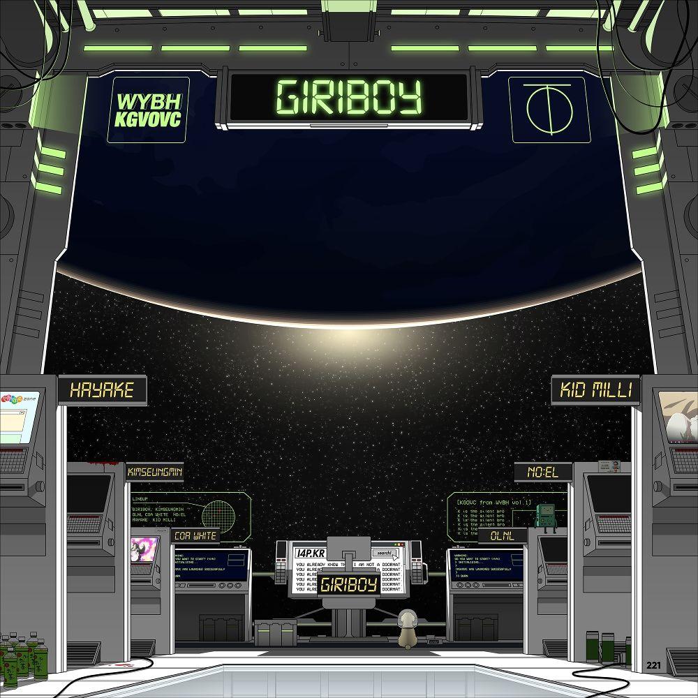 GIRIBOY – KGVOVC from wybh Vol.1 – EP