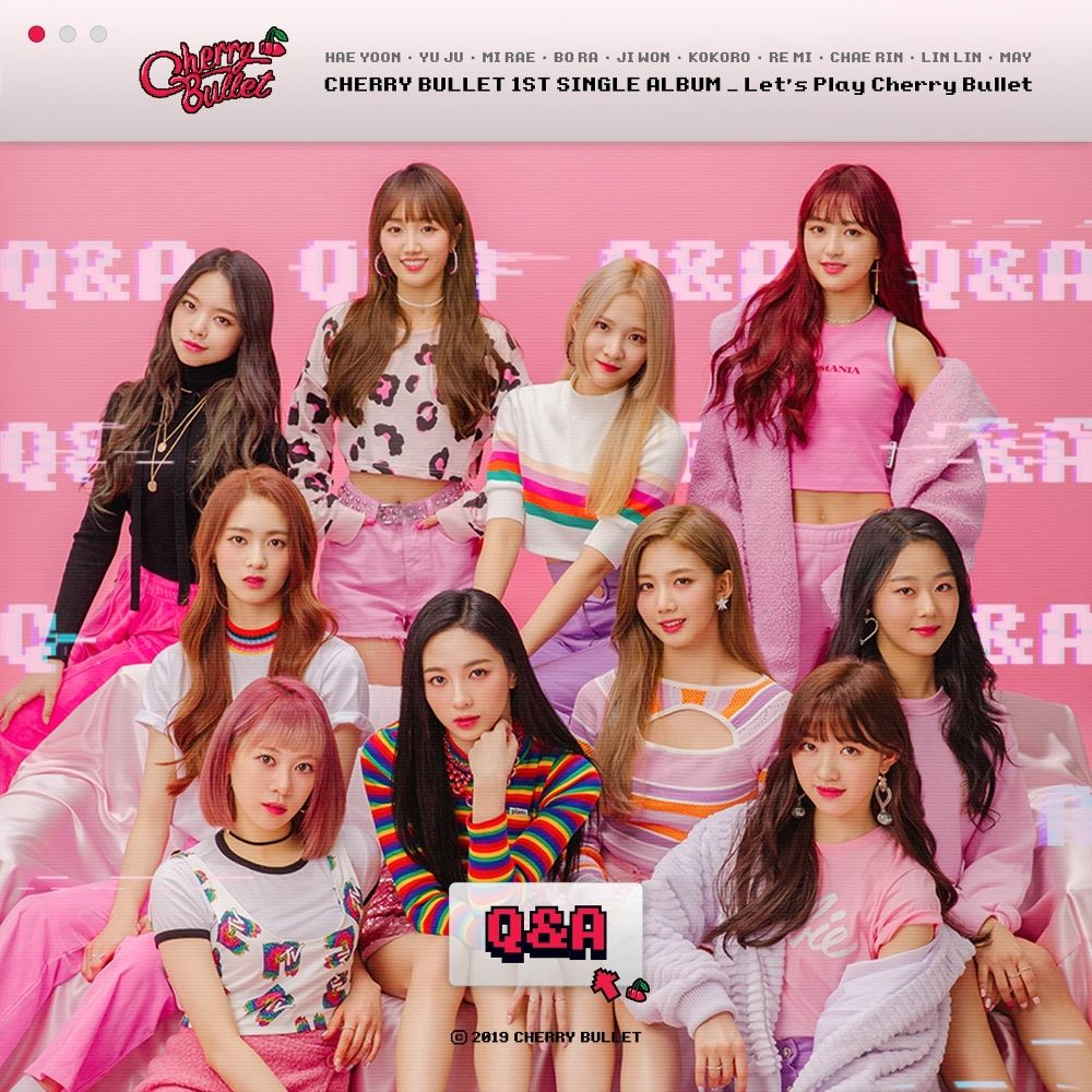 Cherry Bullet – 1st Single Album Let`s Play Cherry Bullet (ITUNES PLUS AAC M4A)