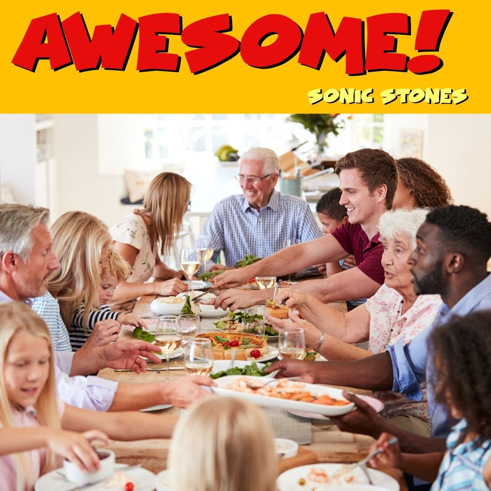SONIC STONES – Awesome! – Single