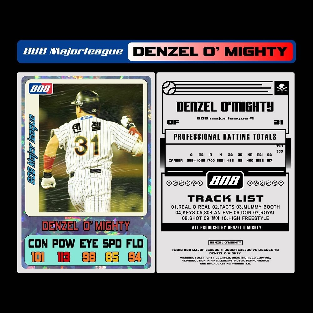 Denzel O`mighty – 808 Major League