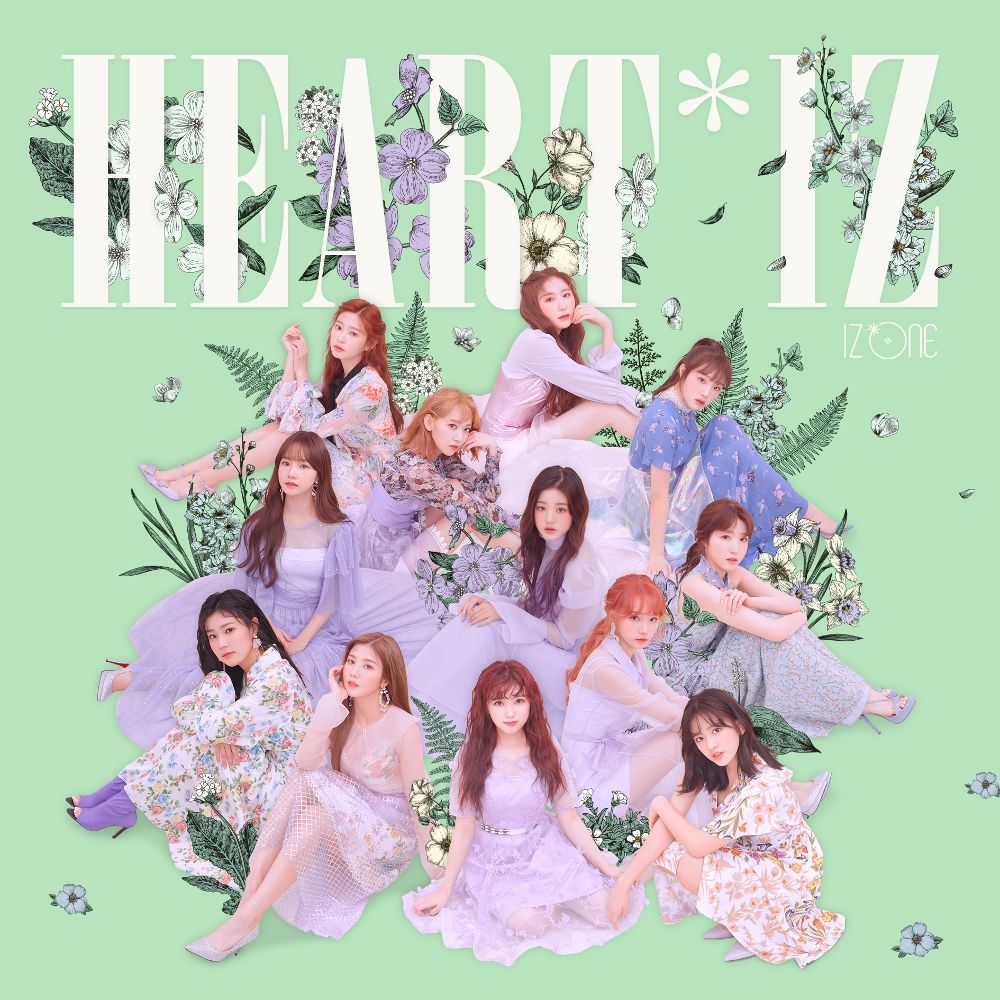IZ*ONE – HEART*IZ – EP (FLAC + ITUNES PLUS AAC M4A)