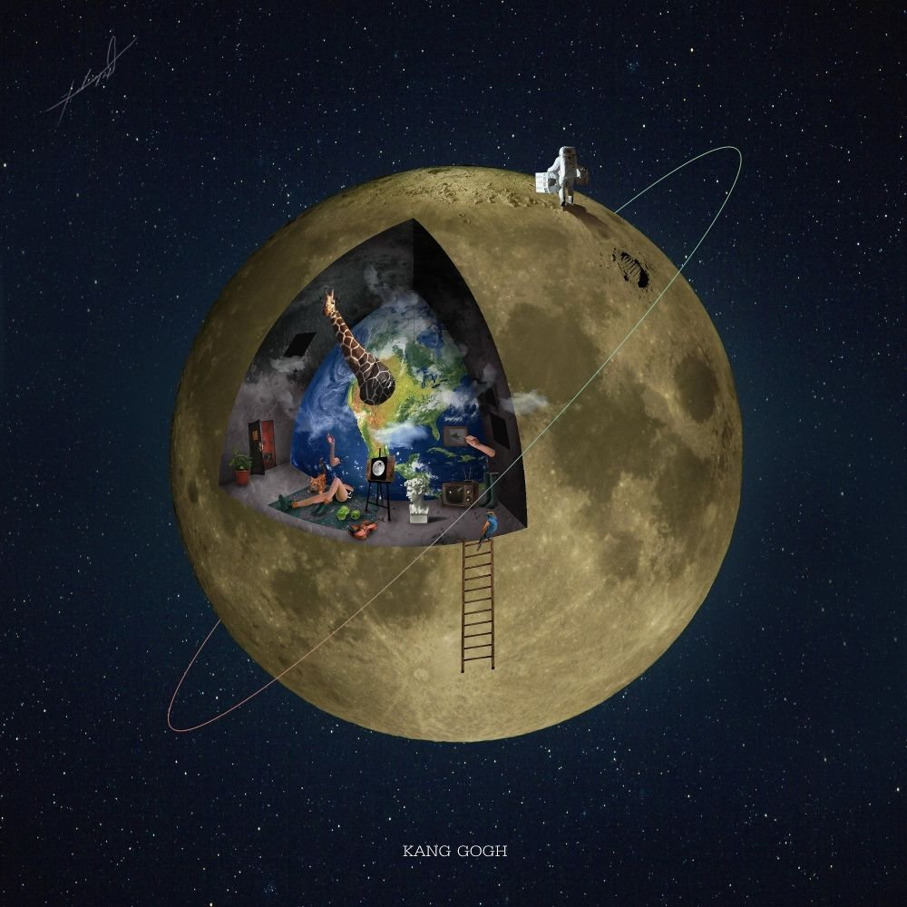 KANG GOGH  – To the Moon – Single