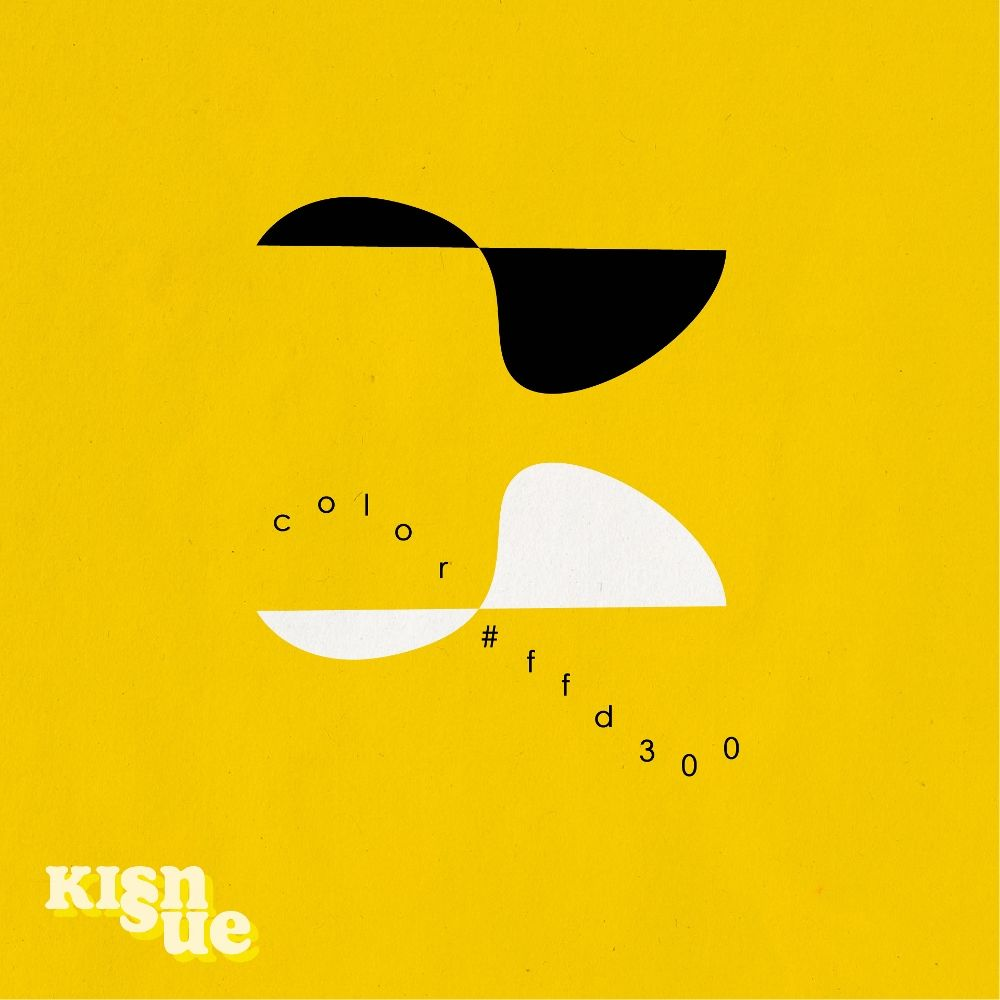 Kisnue – COLOR #FFD300 – Single