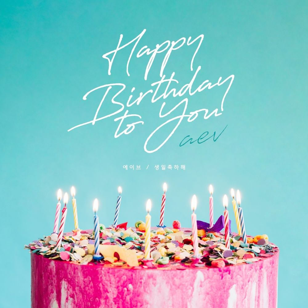 AEV – Happy birthday to you – Single