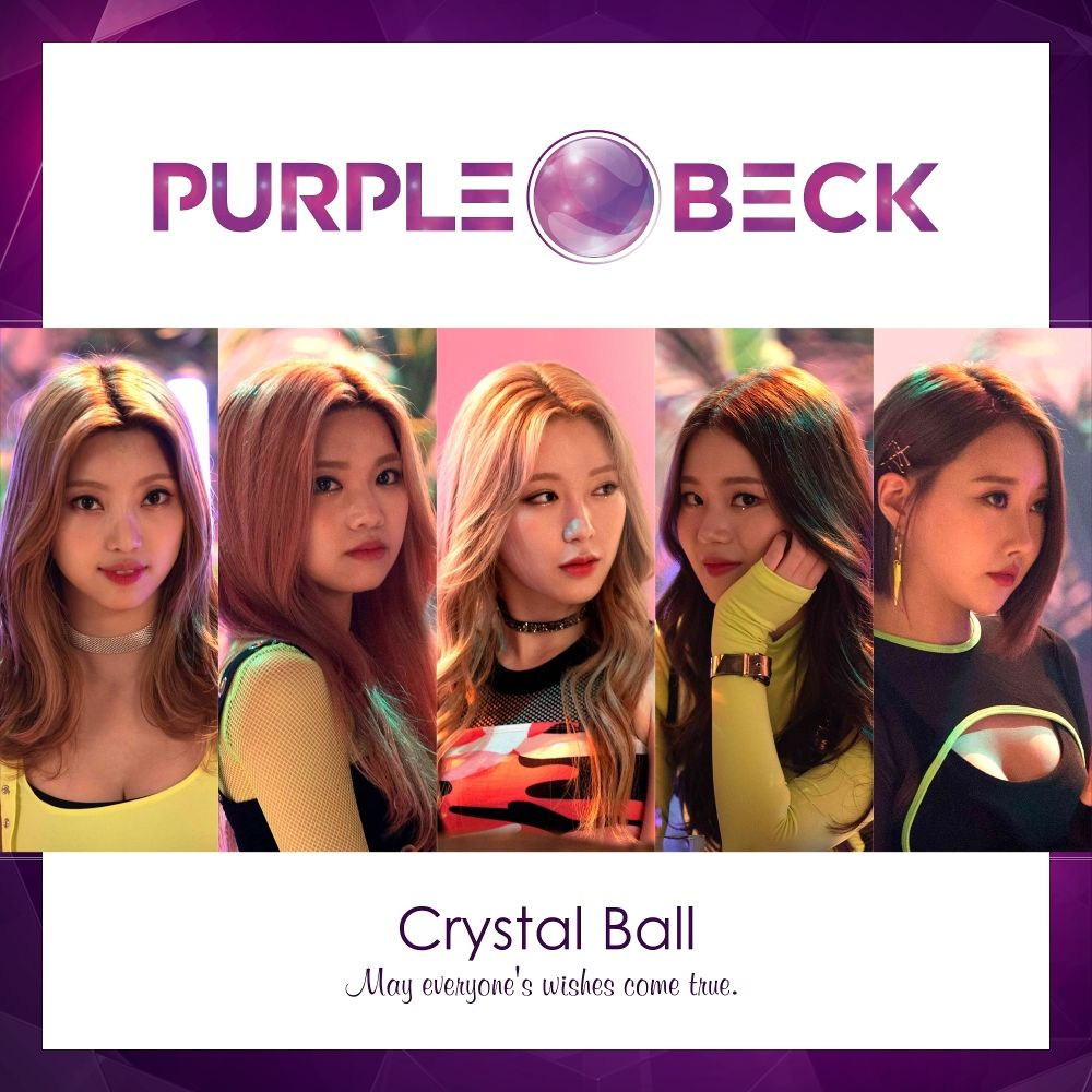 PURPLEBECK – Crystal Ball – EP