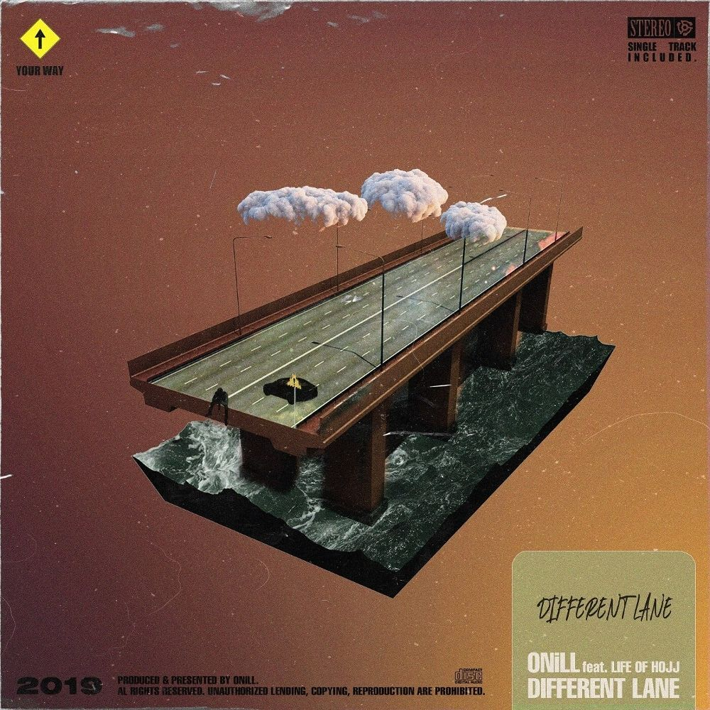 ONiLL – Different Lane (Feat. Life of Hojj) – Single