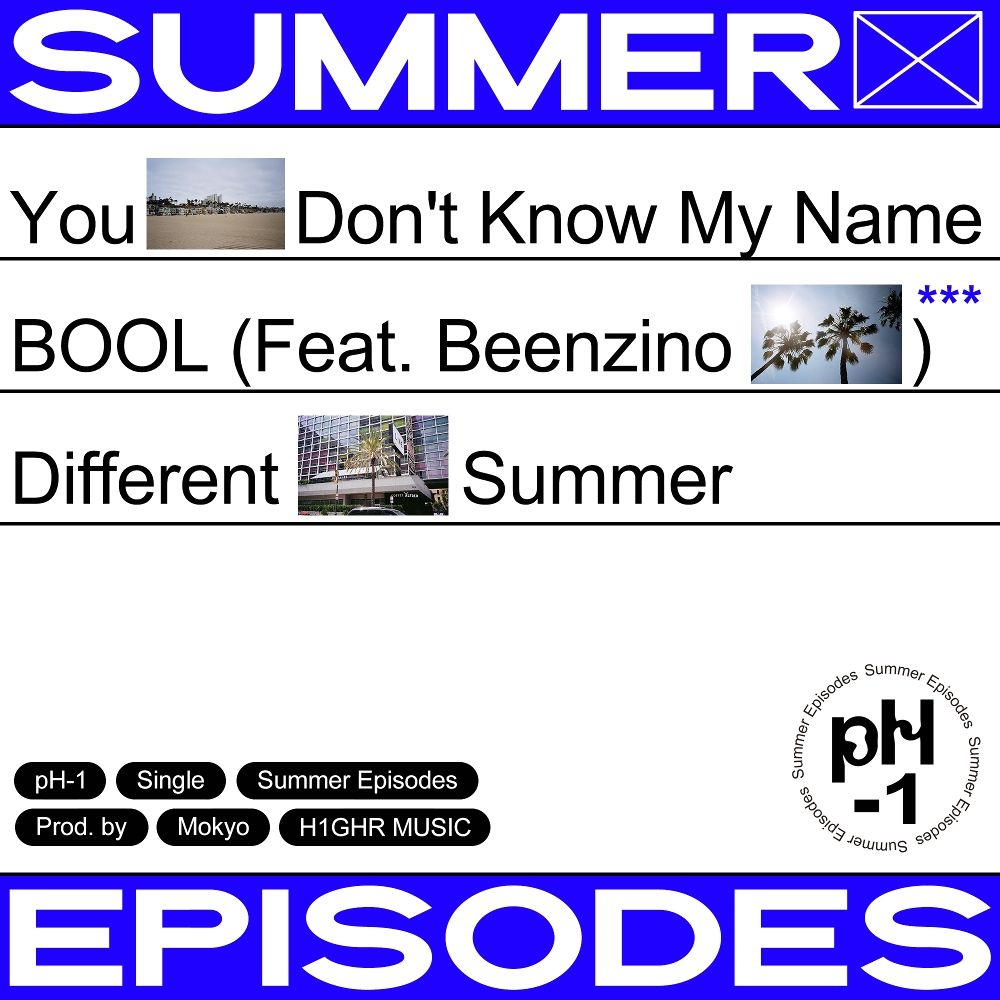 pH-1 – Summer Episodes – Single