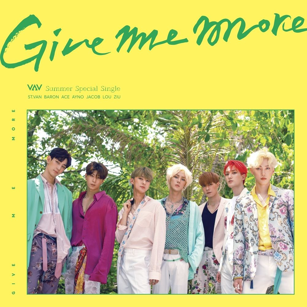 VAV – GIVE ME MORE – Single (FLAC)