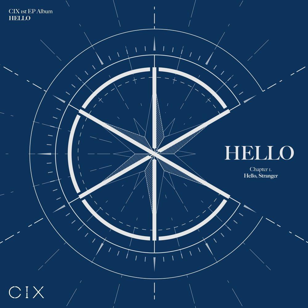 CIX – CIX 1st EP ALBUM 'HELLO' Chapter 1. Hello, Stranger