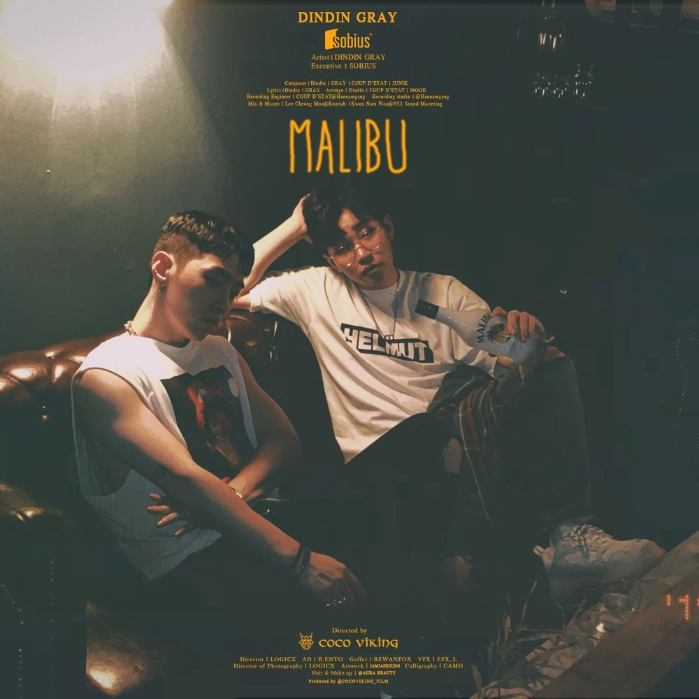 DinDin – Malibu (Feat. GRAY) – Single