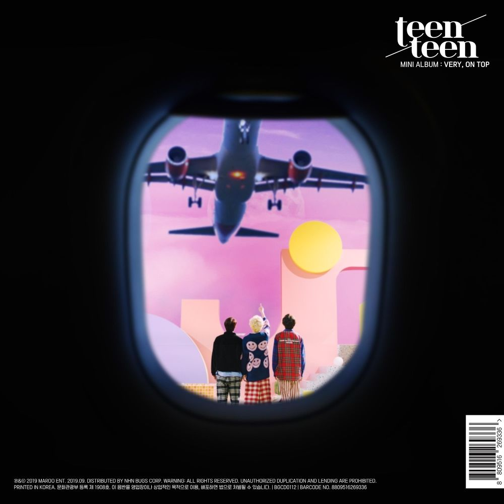 TEEN TEEN – VERY, ON TOP – EP