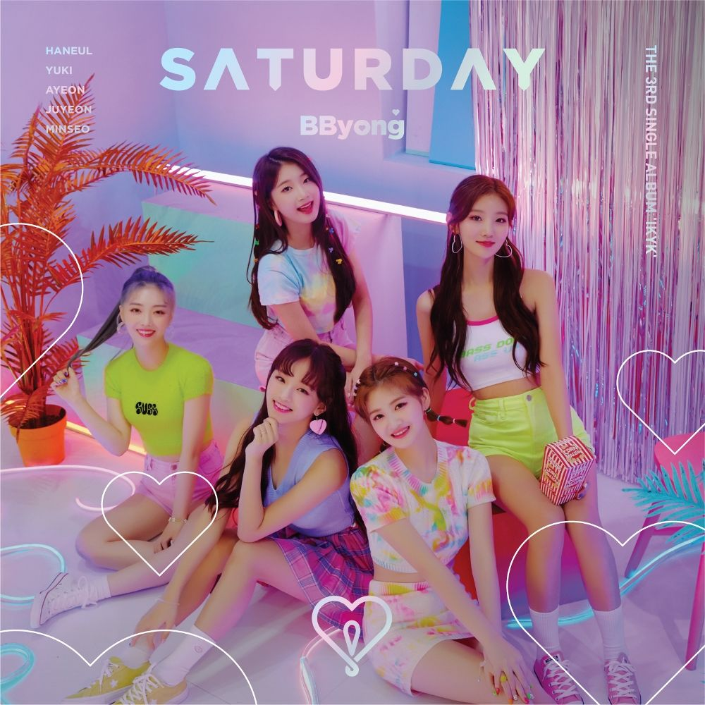 SATURDAY – The 3rd Single Album 'IKYK'