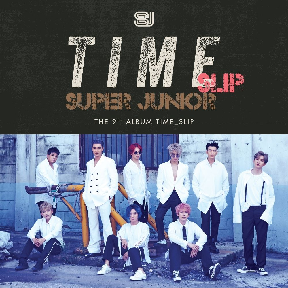 SUPER JUNIOR – Time_Slip – The 9th Album