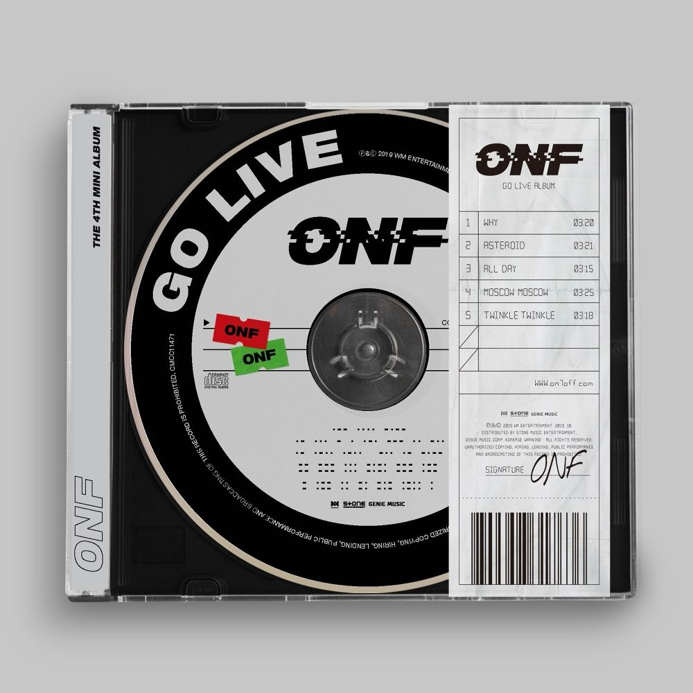 ONF – GO LIVE – EP (ITUNES MATCH AAC M4A)