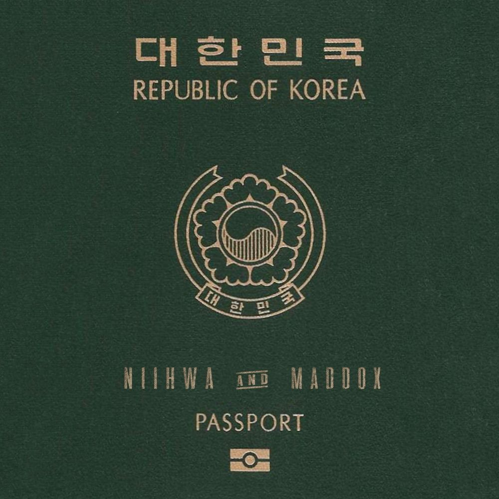 NiiHWA, maddox – Passport – Single