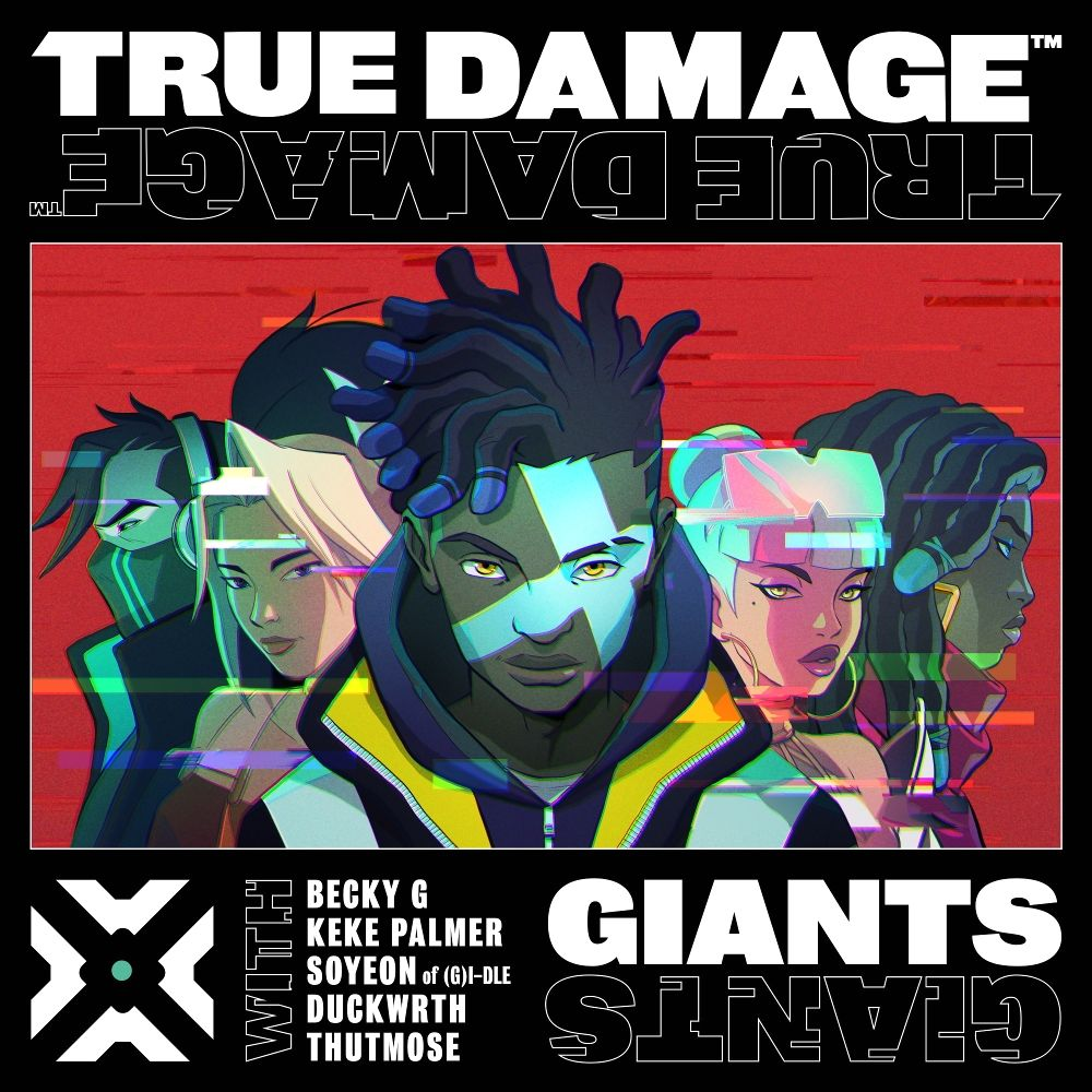 SOYEON ((G) I-DLE), Becky G, Keke Palmer, Duckwrth, Thutmose, True Damage, League of Legends – GIANTS – Single